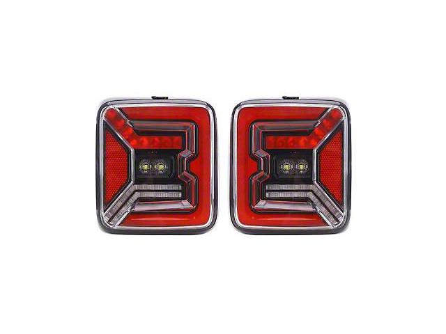 Quake LED Tempest Tech LED Tail Lights (18-21 Jeep Wrangler JL)