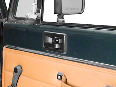 Omix-ADA Interior Door Handle - Right Side (87-95 Jeep Wrangler YJ)