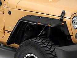 RedRock 4x4 Off-Road Flat Fender Flares (07-18 Jeep Wrangler JK)