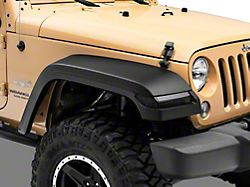 MP Concepts JL Style Fender Flares with Sequential Turn Signals (07-18 Jeep Wrangler JK)