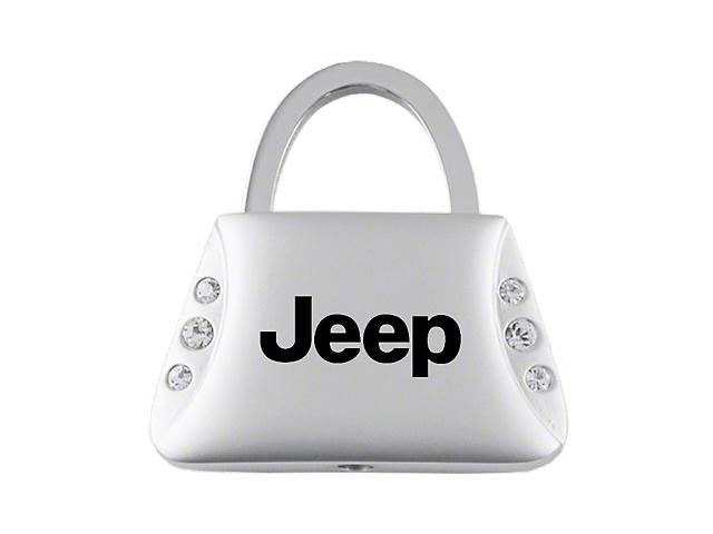 Key Chain; Jeep Jeweled Purse Key Fob