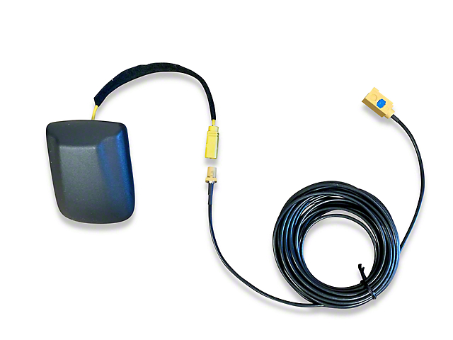 Infotainment SiriusXM Satellite Radio Antenna and Extension Add-on; Hard Mount (18-21 Jeep Wrangler JL)