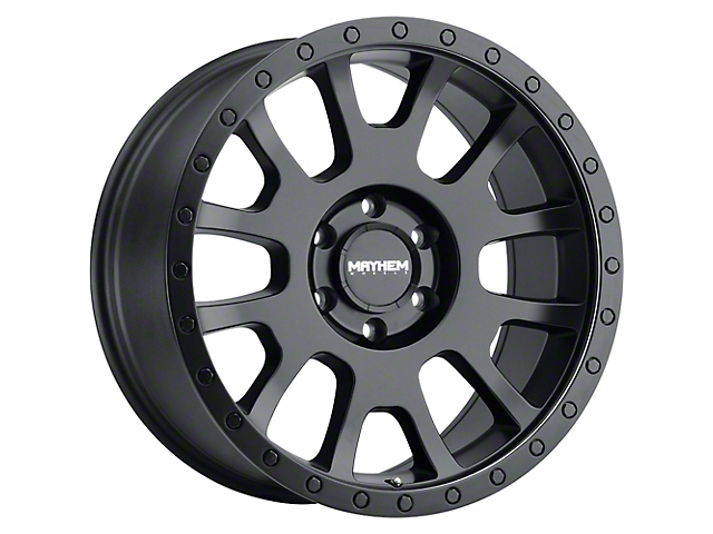Mayhem Wheels Scout Matte Black Wheel; 17x8.5 (18-21 Jeep Wrangler JL)