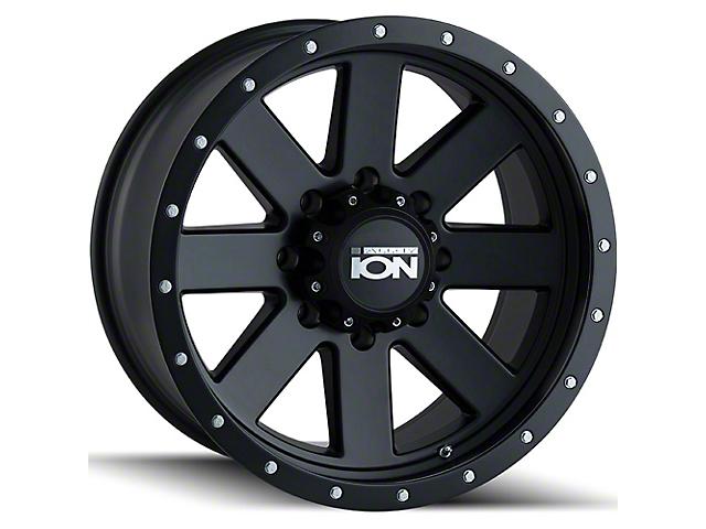 ION Wheels TYPE 134 Matte Black Wheel; 17x8.5 (20-21 Jeep Gladiator JT)