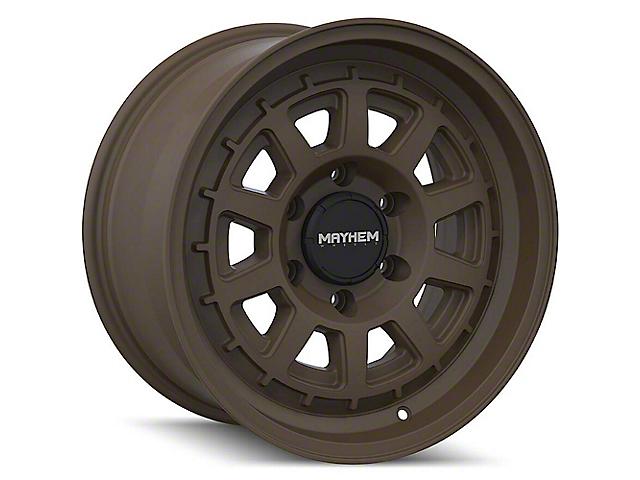 Mayhem Wheels Voyager Dark Bronze Wheel; 17x8.5 (20-21 Jeep Gladiator JT)