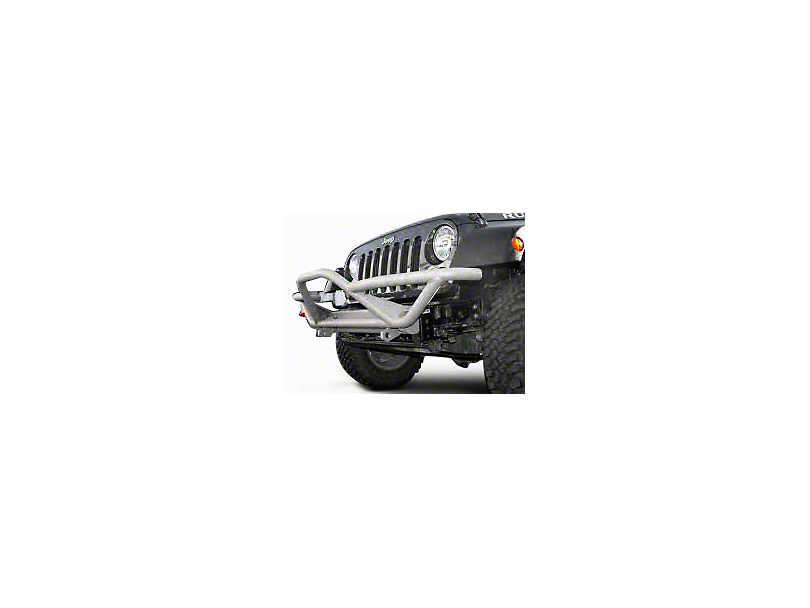 Rugged Ridge RRC Front Grille Guard - Titanium (87-06 Jeep Wrangler YJ & TJ)