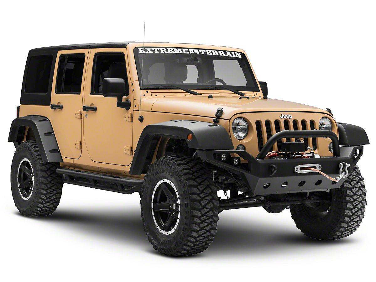 Jeep Rock Crawler >> Smittybilt Rock Crawler Side Armor 07 18 Jeep Wrangler Jk 2 Door