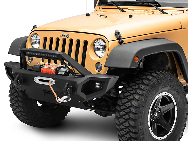 Rough Country Full Width Trail Front Bumper (18-21 Jeep Wrangler JL)
