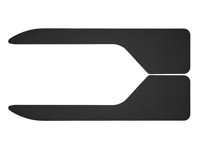Husky Long John Flare Flaps; 12-Inch x 36-Inch (Universal Fitment)