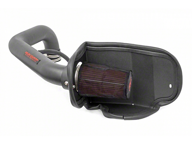 Rough Country Cold Air Intake with Pre-Filter Bag (97-06 4.0L Jeep Wrangler TJ)