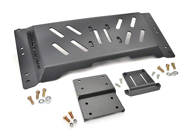 Rough Country High Clearance Skid Plate (97-02 4.0L Jeep Wrangler TJ w/ Automatic Transmission)