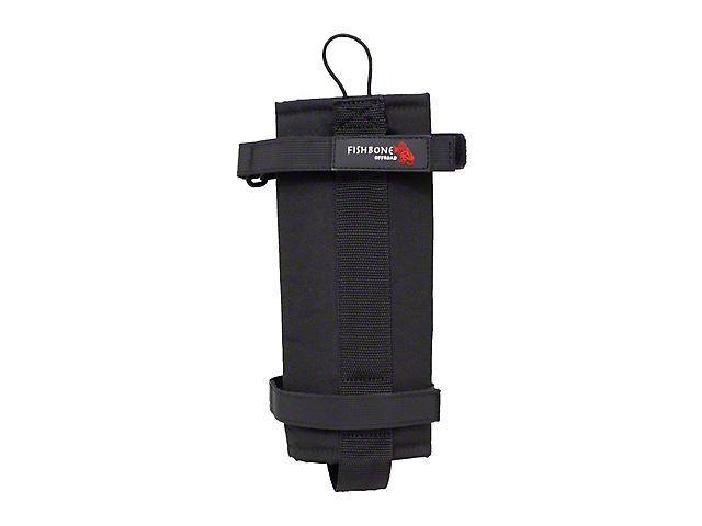 Fishbone Offroad Xtreme Roll Bar Fire Extinguisher Holder; 2.5 lbs.