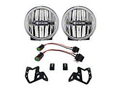 KC HiLiTES 4-Inch Gravity G4 LED Fog Lights (18-21 Jeep Wrangler JL w/ Sport/Altitude Bumper)