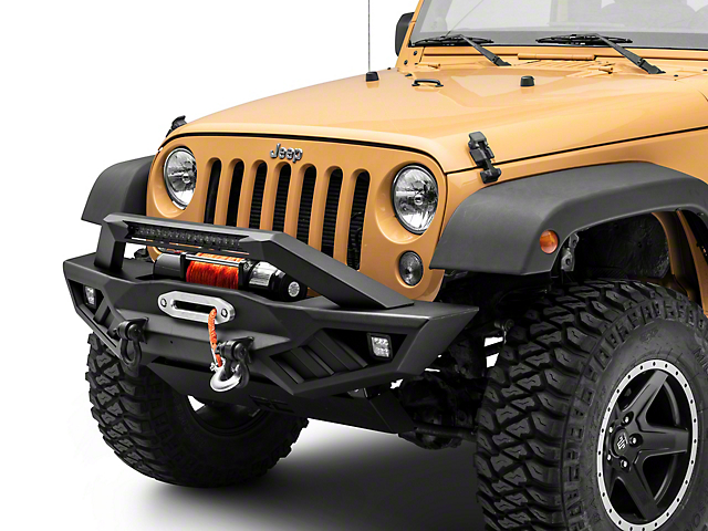 Rough Country Full Width Off-Road Front Bumper (18-21 Jeep Wrangler JL)
