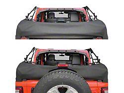Smittybilt Soft Top Storage Boot; Black Diamond (18-21 Jeep Wrangler JL 4-Door)