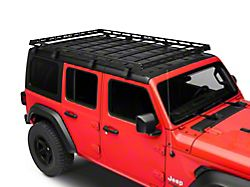 DV8 Offroad Roof Rack (18-21 Jeep Wrangler JL 4-Door)