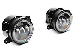 Axial 4-Inch LED Fog Lights with RGB Halo (07-18 Jeep Wrangler JK)
