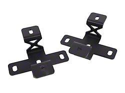 Hood Cowl Double Cube Light Brackets (20-22 Jeep Gladiator JT)