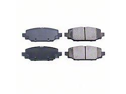 Power Stop Z16 Evolution Clean Ride Ceramic Brake Pads; Rear Pair (18-21 Jeep Wrangler JL, Excluding Rubicon & Sahara)