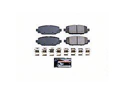 Power Stop Z23 Evolution Sport Carbon-Fiber Ceramic Brake Pads; Rear Pair (18-21 Jeep Wrangler JL, Excluding Rubicon & Sahara)