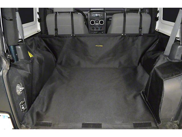 Dirty Dog 4x4 Cargo Liner; Black (07-18 Jeep Wrangler JK 2-Door)