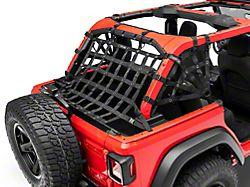 Dirty Dog 4x4 3-Piece Rear Spider Netting Kit (18-21 Jeep Wrangler JL 4-Door)