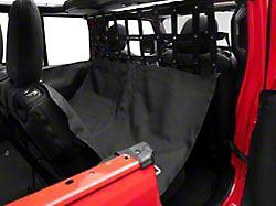 Dirty Dog 4x4 Pet Divider with Hammock and Door Protectors (18-21 Jeep Wrangler JL 4-Door)