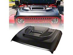Red Rock Series Hood with Functional Air Vents; Unpainted (18-21 Jeep Wrangler JL)