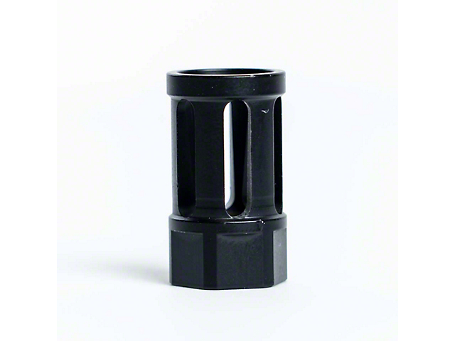Bird Cage Design AR-15 Rifle Barrel Antenna Tip Flash Hider; Black (Universal; Some Adaptation May Be Required)