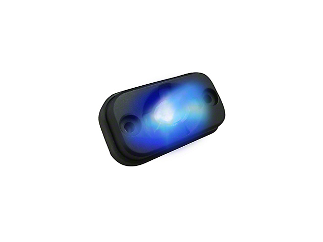 LED Under Body/Rock Lights; Blue (Universal; Some Adaptation May Be Required)