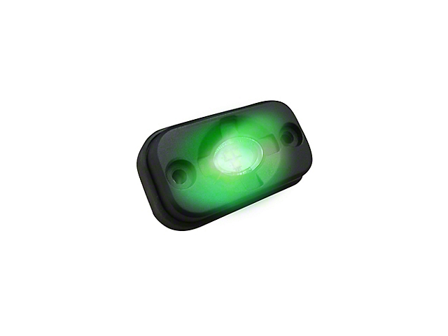 LED Under Body/Rock Lights; Green (Universal; Some Adaptation May Be Required)