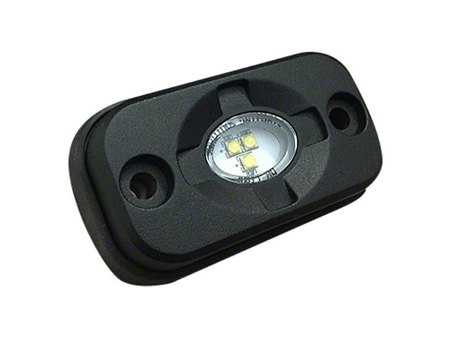 LED Under Body/Rock Lights; Multi-Color (Universal; Some Adaptation May Be Required)