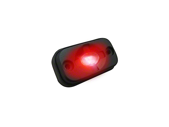 LED Under Body/Rock Lights; Red (Universal; Some Adaptation May Be Required)
