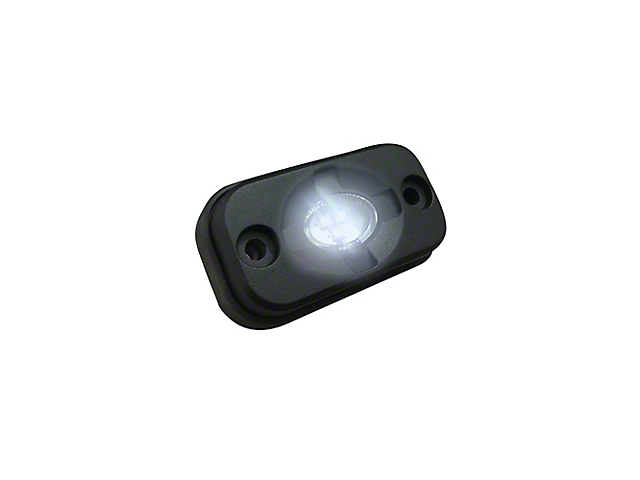 LED Under Body/Rock Lights; White (Universal; Some Adaptation May Be Required)