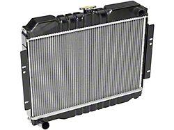 Radiator; 2 Row (74-80 Jeep CJ5 & CJ7)