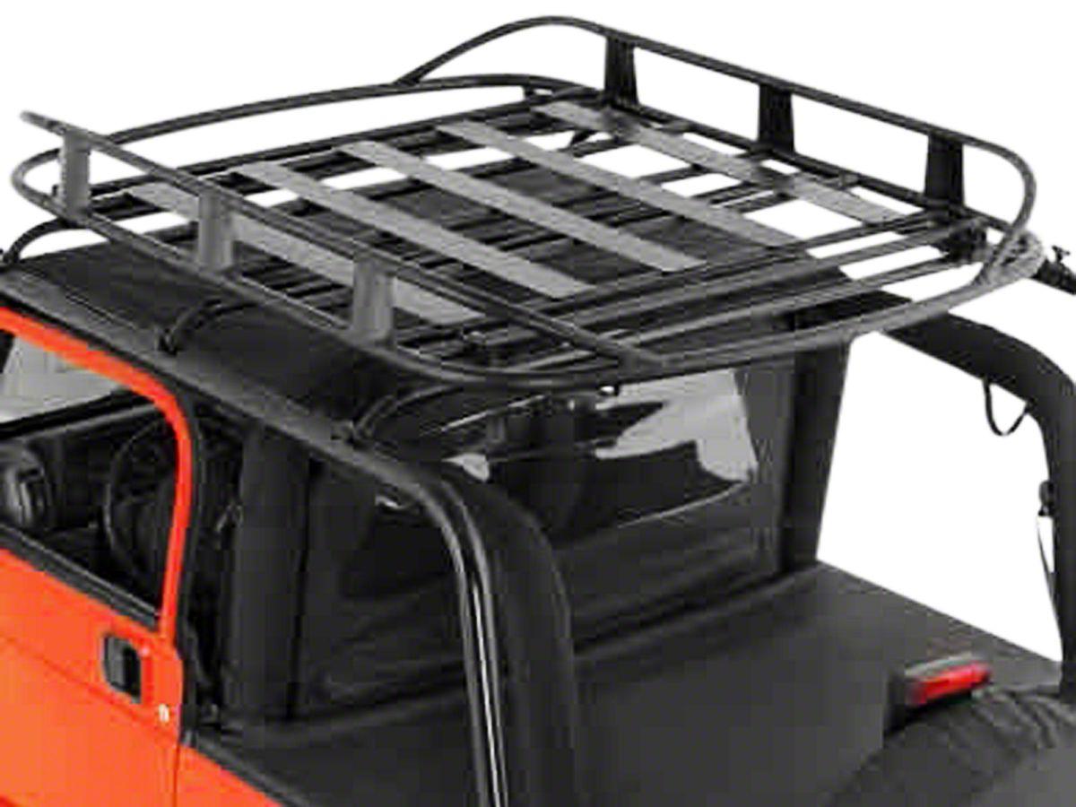Jeep Wrangler Rugged Rack Roof Basket