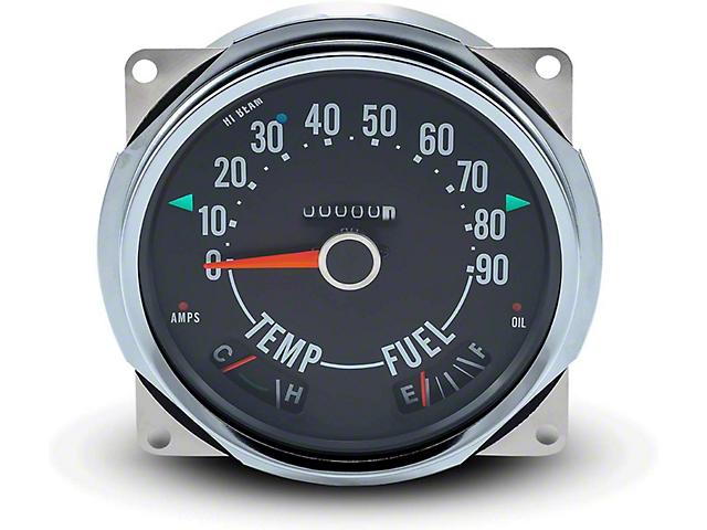Speedometer Cluster (66-79 Jeep CJ5 & CJ7)