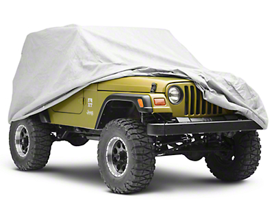 Rugged Ridge Full Car Cover (87-06 Wrangler YJ & TJ)