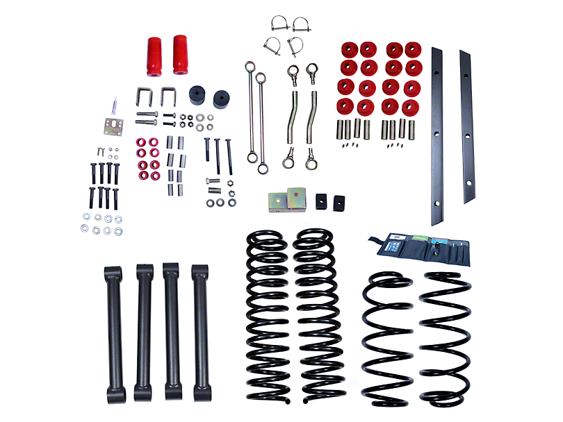Rugged Ridge 4 in. Suspension Lift Kit (03-06 Jeep Wrangler TJ Rubicon)