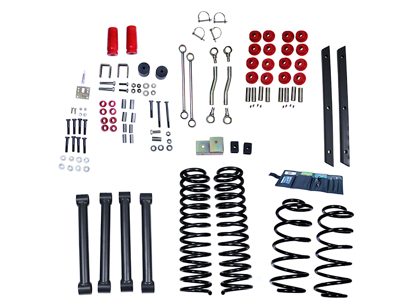 Rugged Ridge 4 in. Suspension Lift Kit (03-06 Jeep Wrangler TJ)