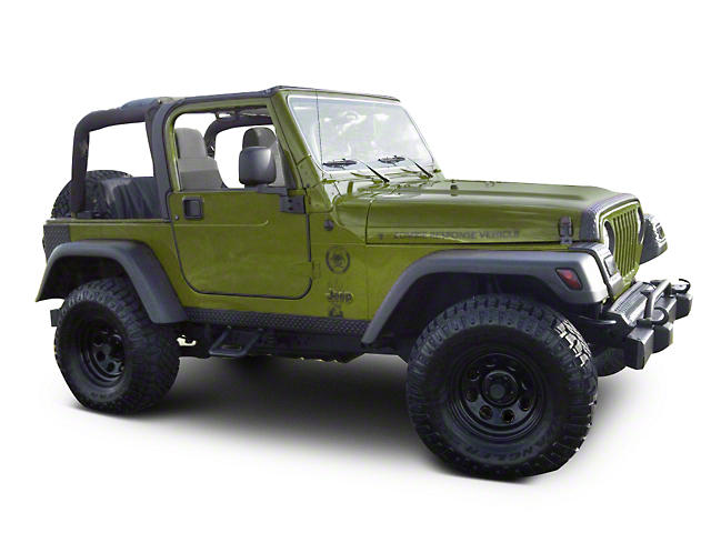 6-Piece 7 in. Fender Flares (97-06 Jeep Wrangler TJ)