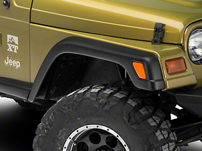 Omix-ADA Factory Style Rep. 6 pc. Fender Flare Kit w/o hardware (97-06 Wrangler TJ)