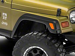 Factory Style Fender Flares with Front Extensions (97-06 Jeep Wrangler TJ)