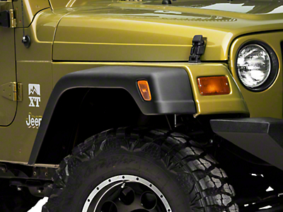 Omix-ADA 7 in. Fender Flare 6pc Kit w/ Hardware (97-06 Jeep Wrangler TJ)