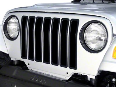 Rugged Ridge Jeep Wrangler Aluminum Grille Insert Kit