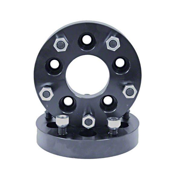 Rugged Ridge 1.25 in. Wheel Adapters - 5x4.5 to 5x5.5 (87-06 YJ & TJ Jeep Wrangler)