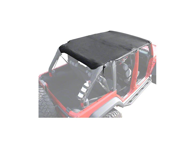 Rugged Ridge Pocket Island Top - Black Diamond (07-09 Jeep Wrangler JK 4 Door)