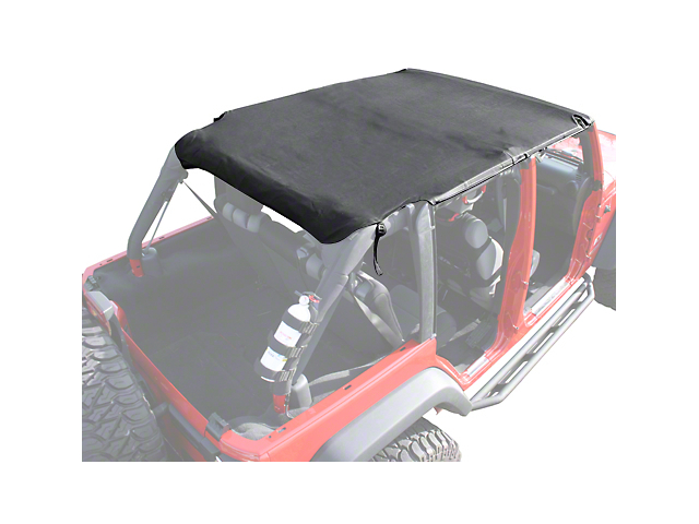 Rugged Ridge Pocket Island Top - Black Diamond (07-09 Jeep Wrangler JK 4 Door)