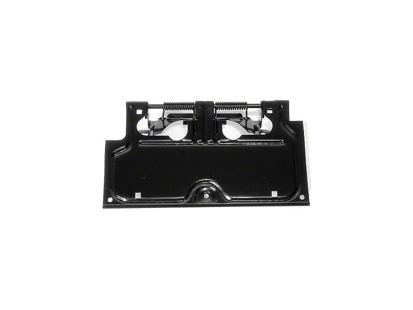 Rugged Ridge Black License Plate Bracket (87-95 Wrangler YJ)  sc 1 st  Extreme Terrain : liscence plate holder - pezcame.com