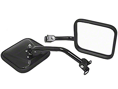 Rugged Ridge Black Mirror Kit (87-95 Wrangler YJ)